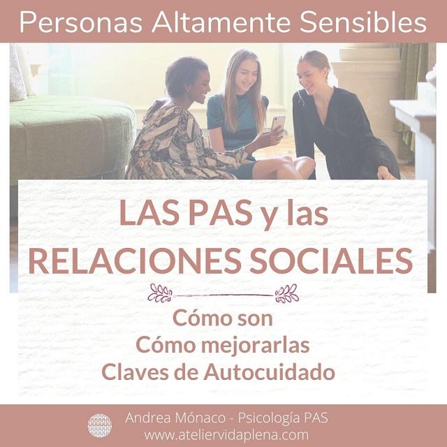 Las PAS y las relaciones sociales