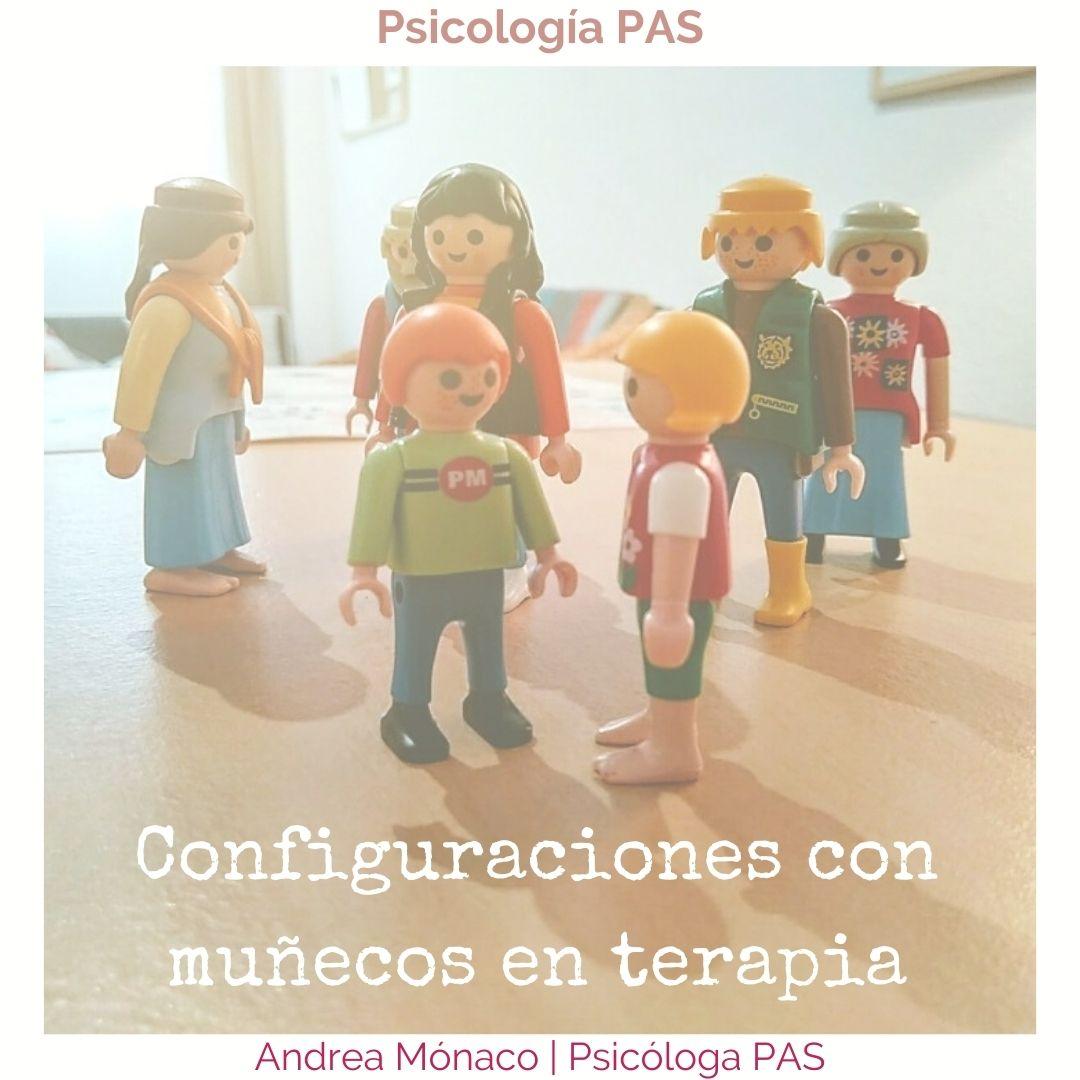 Muñecos en Psicología PAS